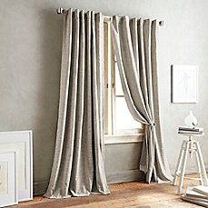 image of DKNY Front Row Back Tab Window Curtain Panel