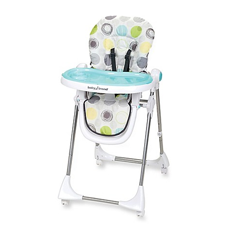 Baby Trend 174 Aspen Lx High Chair In Mod Dot Bed Bath Amp Beyond