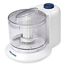 image of Black & Decker™ 1.5-Cup One-Touch Food Chopper