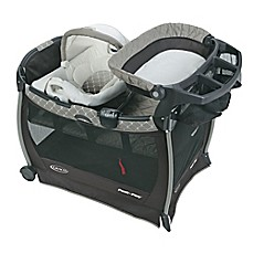 image of Graco® Pack 'n Play® Playard with Cuddle Cove™ Elite Removable Seat in London™