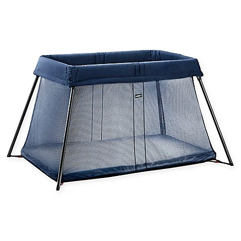 portable beds babybjorn travel crib light in great blue from buy. Black Bedroom Furniture Sets. Home Design Ideas