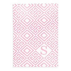 image of Tadpoles™ by Sleeping Partners Ultra-Soft Knit Greek Key Blanket in Pink