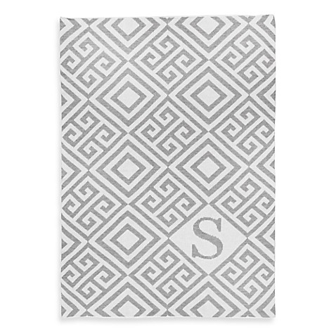 Tadpoles™ by Sleeping Partners Ultra-Soft Knit Greek Key Blanket in Grey