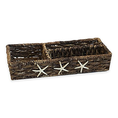 Baum Starfish Woven Divided Tank Basket Bed Bath Beyond