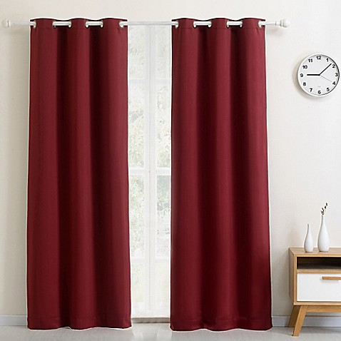 buy glasgow grommet 84inch extra wide curtain panel 112