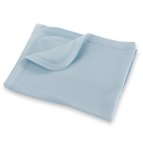 bb Basics Thermal Receiving Blanket in Blue