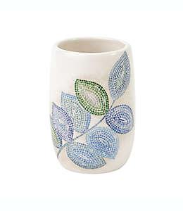 Vaso de cerámica Croscill® con diseño de hojas