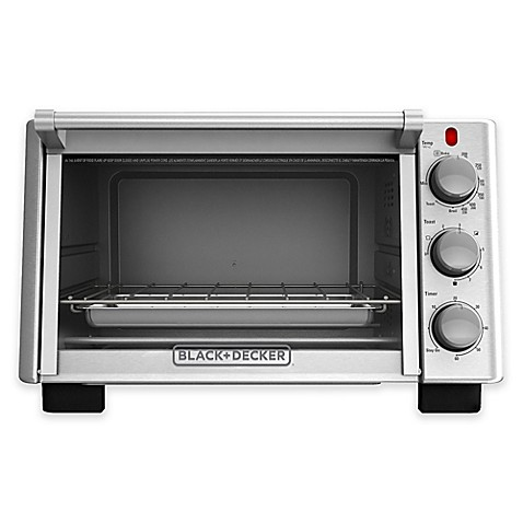 Black Decker™ 6 Slice Convection Toaster Oven Bed Bath & Beyond