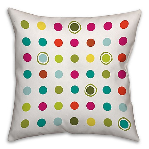 Colorful Circles Throw Pillow - Bed Bath & Beyond