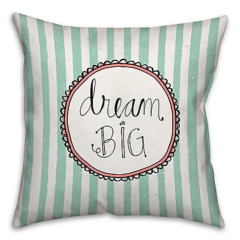 Big Square Decorative Pillows :