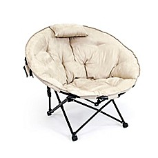 image of Folding Moon Chair in Khaki