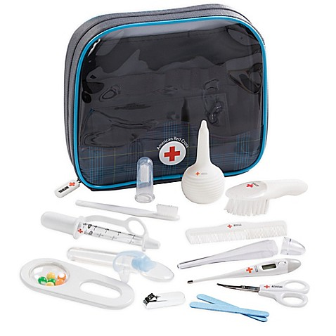 The First Years American Red Cross Deluxe Baby Healthcare & Grooming Kit