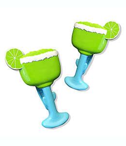 Pinzas para toalla de plástico Boca Clips®, con forma de copa, 2 piezas