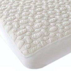 image of Forty Winks™ Pebble-Puff™ Full Organic Cotton Mattress Pad