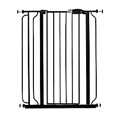 image of Regalo® Easy-Step Extra-Tall Walk-Through Gate in Black