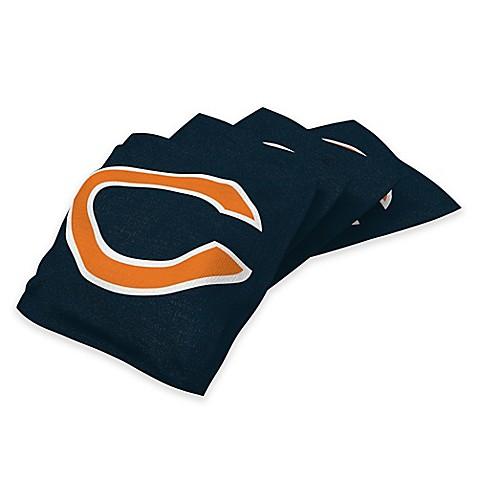 Nfl Chicago Bears 16 Oz Duck Cloth Cornhole Bean Bags In