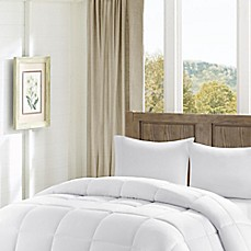 image of Madison Park Winfield Luxury Down Alternative Comforter in White