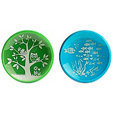 image of Brinware School of Fish Dishes in Blue/Green (Set of 2)