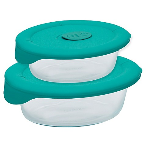 pyrex pro oval dish with bondi plastic lid bed bath beyond. Black Bedroom Furniture Sets. Home Design Ideas