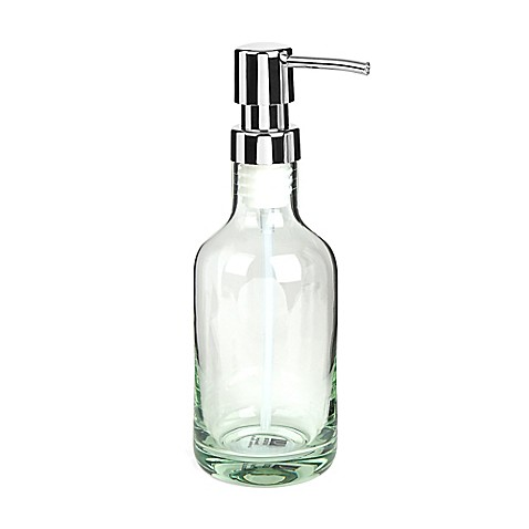 Umbra Molded Glass Soap Pump In Green Bed Bath Beyond