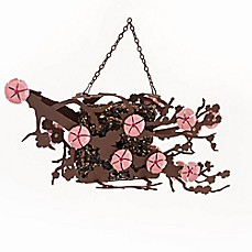 image of Desert Steel Cherry Blossom Suet Bird Feeder