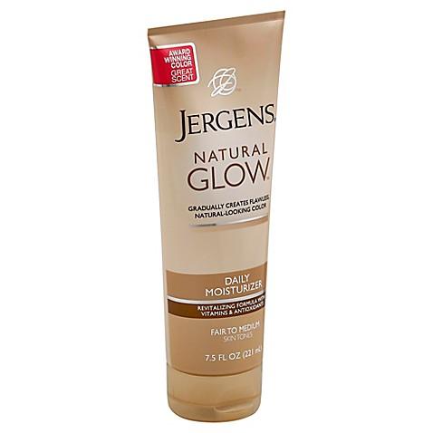 Jergens 174 Natural Glow 174 Daily Moisturizer In Fair To Medium