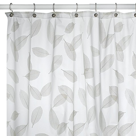 Modern Leaf Peridot Shower Curtain Bed Bath Beyond