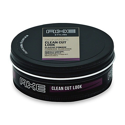 axe hair styling axe styling 2 64 oz clean cut look classic pomade bed 4403