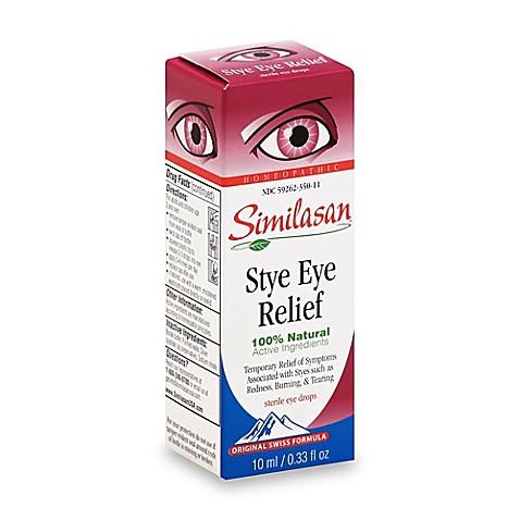 Similasan eye drops stye