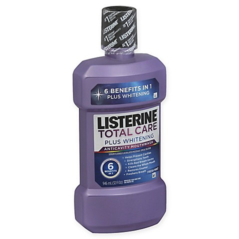 how to use listerine whitening mouthwash