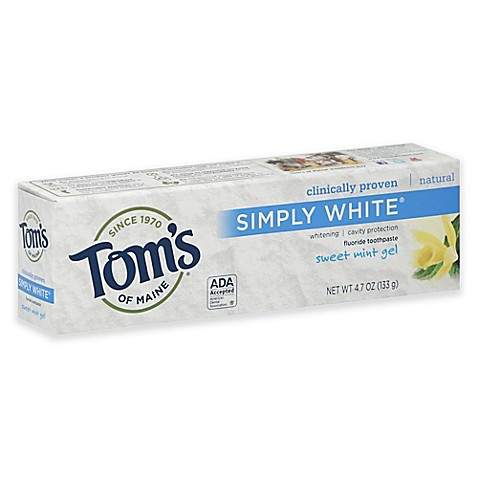 Image Result For Toms Toothpaste No Fluoride
