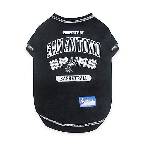 Buy nba san antonio spurs x small pet t shirt from bed for Screen print shirts san antonio