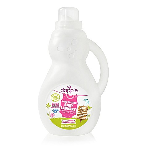 dapple® 50 oz. Pure 'N' Clean Baby Laundry Detergent in Fragrance-Free