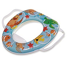 image of easy clean potty seat with handles