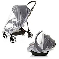 image of Dreambaby® 2-Piece Travel System Insect Netting Set in White
