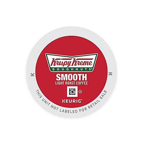 Keurigu0026reg; K Cupu0026reg; Pack 18 Count Krispy Kreme Doughnutsu0026reg; Smooth  Light