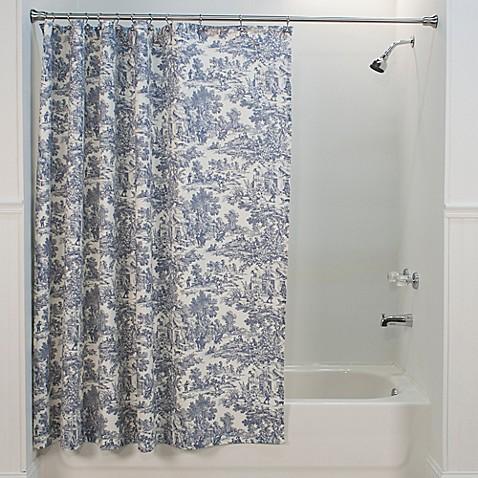 Victoria Park Toile Shower Curtain Bed Bath Beyond