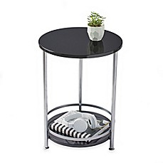 image of 2-Tier Round Side Table