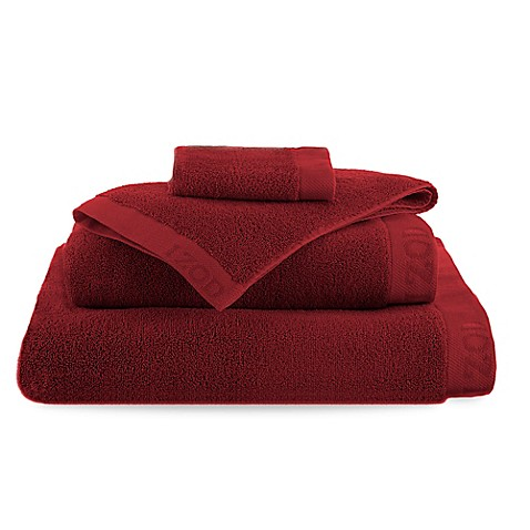 Buy Izod 174 Classic Egyptian Cotton Bath Sheet In Pompei Red