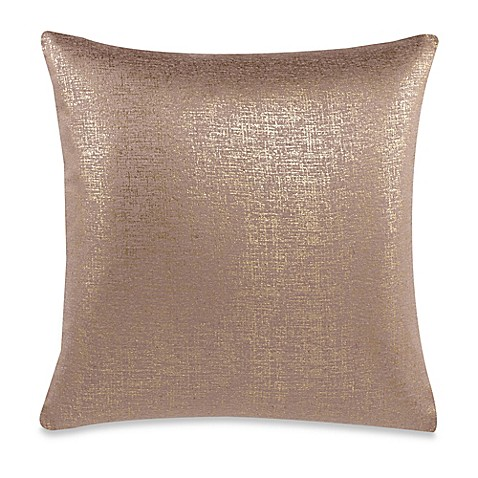 Make Your Own Decorative Pillow Covers : Make-Your-Own-Pillow Buckingham Streets Throw Pillow Cover in Gold - Bed Bath & Beyond