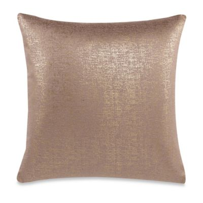 Decorative Pillow Makers : Make-Your-Own-Pillow Buckingham Streets Throw Pillow Cover in Gold - Bed Bath & Beyond