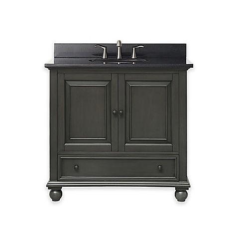 buy avanity thompson 37 inch single vanity with granite