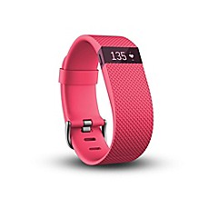 image of Fitbit® Charge HR Wireless Heart Rate and Activity Wristband in Pink