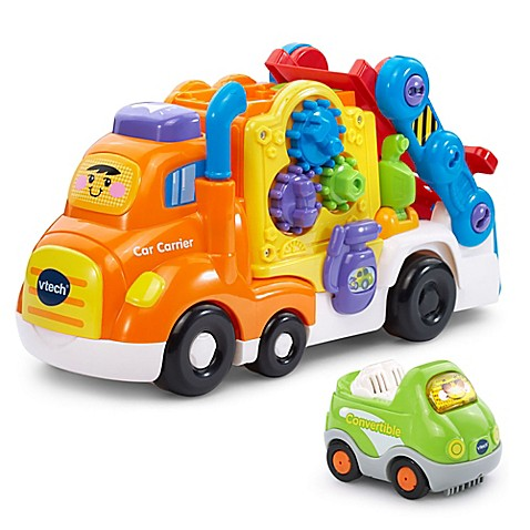 Go Go Smart Wheels Deluxe Car Carrier By Vtech Buybuy Baby