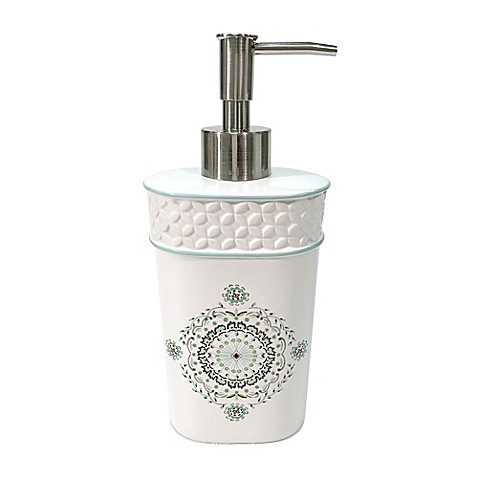 Dena home camden lotion dispenser bed bath beyond for Dillards bathroom accessories