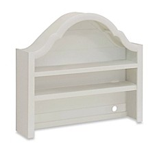 image of Million Dollar Baby Classic Sullivan Hutch for Double Dresser in Dove