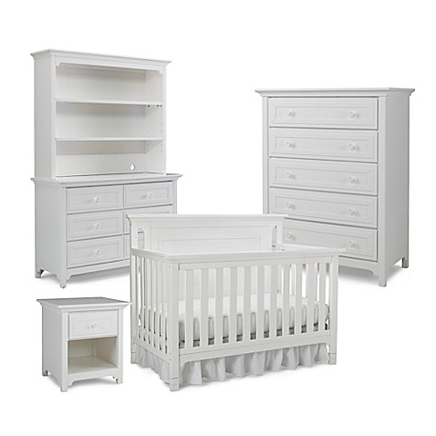 Ti Amo Nursery Furniture Collection With Carino 4 In 1 Crib In Snow White Bed Bath