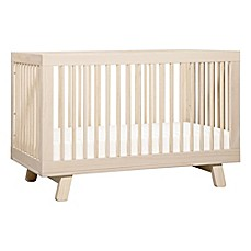 image of Babyletto Hudson 3-in-1 Convertible Crib in Washed Natural
