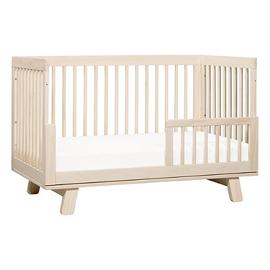 Babyletto Hudson 3 In 1 Convertible Crib Washed Natural
