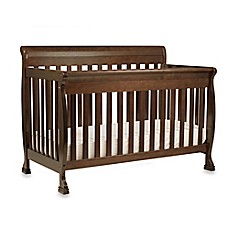 image of DaVinci Kalani 4-In-1 Convertible Crib with Toddler Bed Kit in Espresso